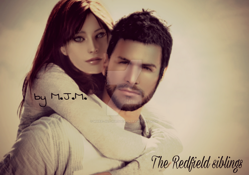 Chris and Claire Redfield by Marie-Jill-Maeuschen