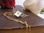 Time Flies Necklace by GildedGears