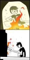 Comic - Kill It With Fire by blinkpen