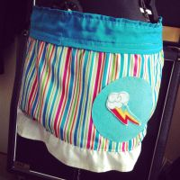 Rainbow Dash Skirt Finished by X-Skull-Kitten-X