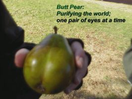 Butt Pear by Sizab