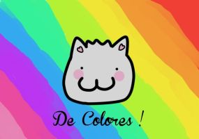 Cat De Colores!! by funyan-lineart