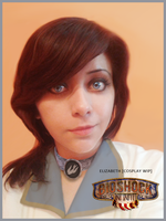 Elizabeth BioShock Infinite cosplay WIP by VickyxRedfield