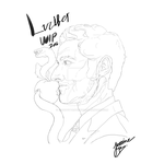 Lucifer Line Art WIP by GagaPotterTribute