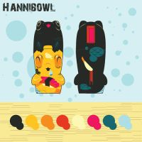 Hannibowl: Mimicobot contest by Doe-Eyed-Monster