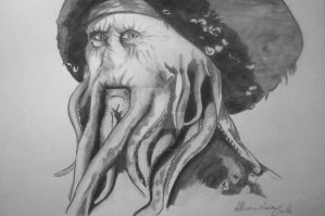 Davy Jones by Maryluworld