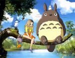 My Neighbor Totoro Commission by SpyroShurtagul