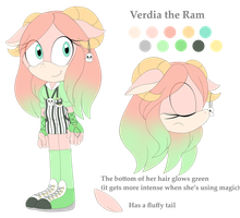 Verdia the Ram - Reference by CitrusGalaxy