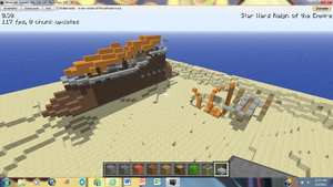 Minecraft Sail Barge 3 by irHAXOR