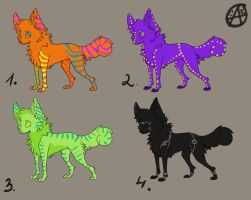 adopt canines 6-10 points closed by wolfyLRiina