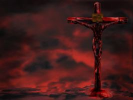 Crucified Wallpaper by nekarxenos