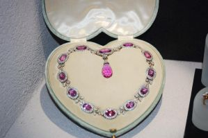 Pink Necklace B by MLeighS