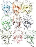 OC Expressions by Heba-chan