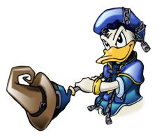 Donald The Mighty Duck by shadowcatxavier