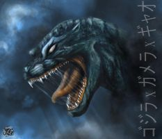 Face of Gojira by TGoperator