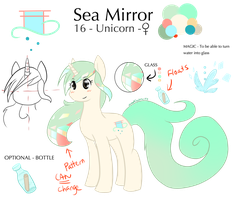 .: Reference Sheet :. Sea Mirror by SweetElectricity