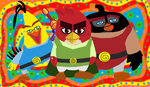 Angry Birds Heroes by Alex-Bird