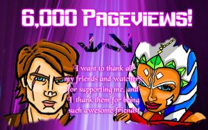 6,000 Pageviews! by Chrisily