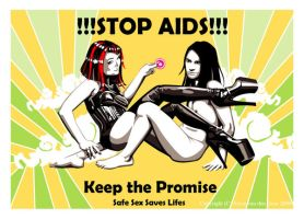 Stop Aids Keep the Promise by daisyamnell