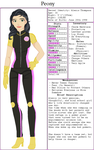 Alexis Thompson Character Sheet by DelpheneLightfoot