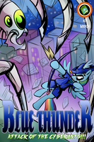 blue thunder comic by CSImadmax
