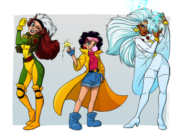X-ladies by lainchan