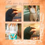 +The sun in your hands - Action by idieforyou