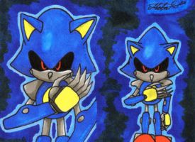 Sonic Generations: Metal Sonic by Metal-CosxArt