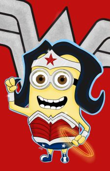 Wonder Woman Minion by jamart2013