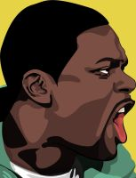 Vector Portrait of Chris Tucker by maddaluther