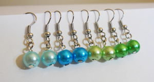 Pearl-Earrings-Blue-Edition by LypticDesigns