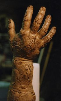 Fried arm sculpture by EvanCampbell