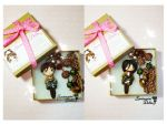 Attack On Titan Eren and Mikasa by SentimentalDolliez