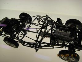 Structural Model of Mercedes by toyonda