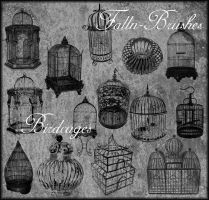 Birdcages Brushes Set 1 by Falln-Brushes
