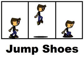 Dysart's Jump Shoes by Dysartist