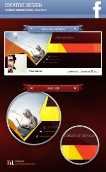 Creative Design | Facebook Timeline Cover #07 by artefaelmarques