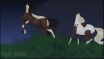 Sparta and mare commission by night-mother