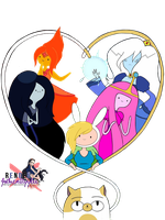 Adventure Time Girls 2 Heart by GothicxStyylee