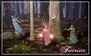 Faeries by jennyelf02