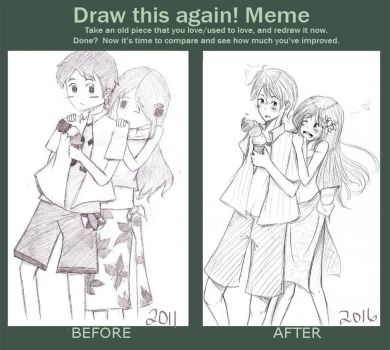 let's draw it again~ by diabolico0anghel