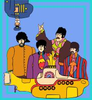 Yellow submarine by Beyond-insane