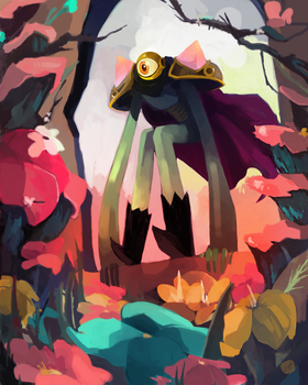 Son of the evil flowers by CaroWaro