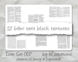 Icon textures set 007 by kiteflier