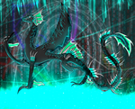 Xdaie the Coding Digital creature by Dragonrage19