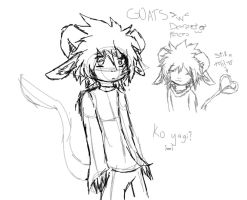 HURRAY FOR GOAT USUI by shadowfirdark