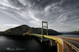 Oroville Bridge by o0oLUXo0o