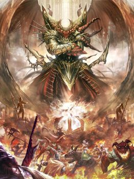 Haagenti Highlord of hell (evovled version) by dcwj