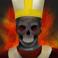 The real Pope by AbstractDawn