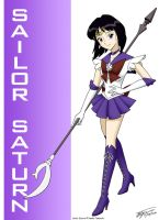 Sailor Saturn Fan Art by ArthurT2015